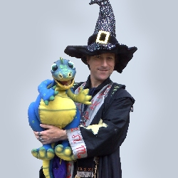 wizard childrens entertainer