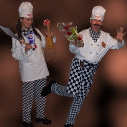 food themed entertainers